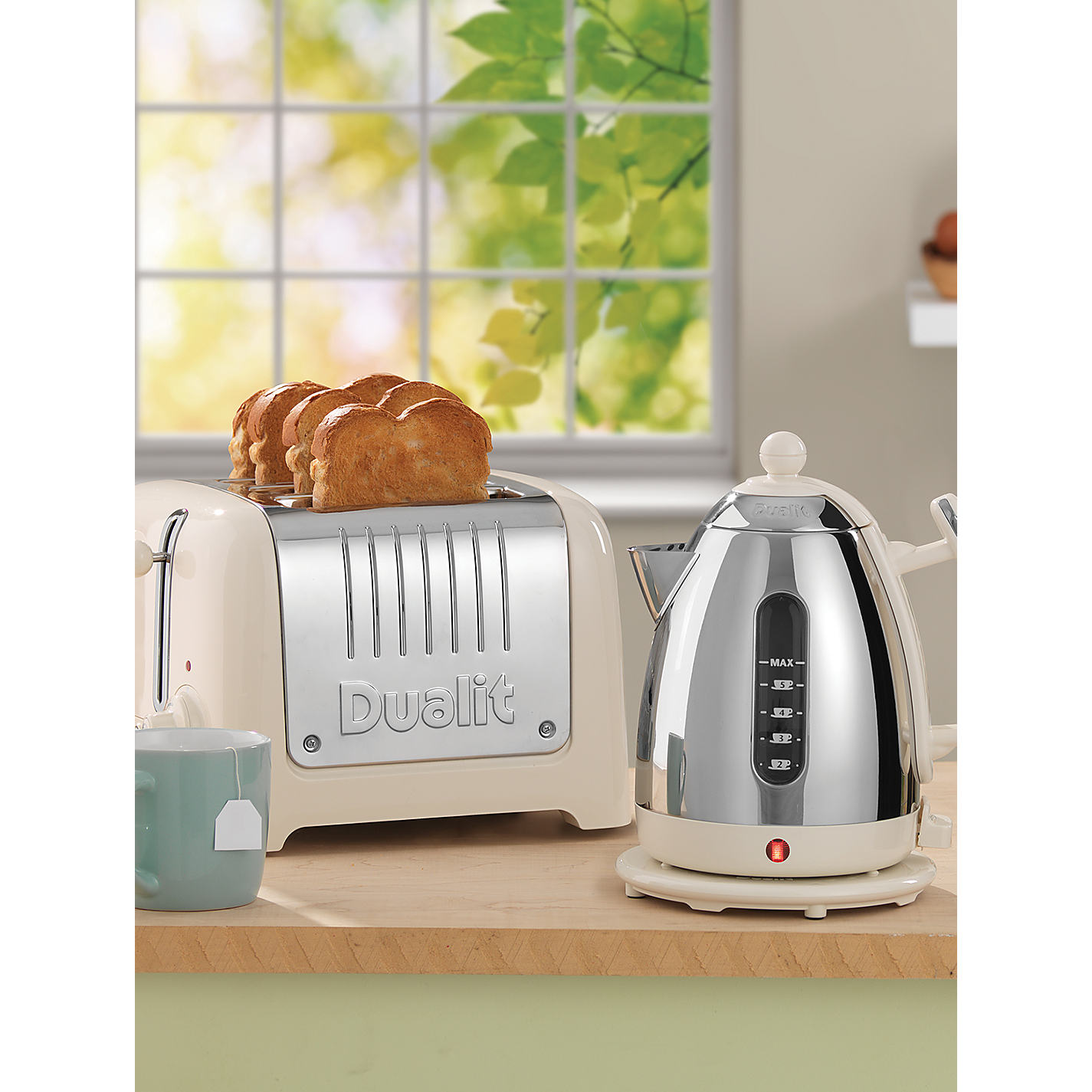Buy Dualit Lite 4 Slice Toaster with Warming Rack