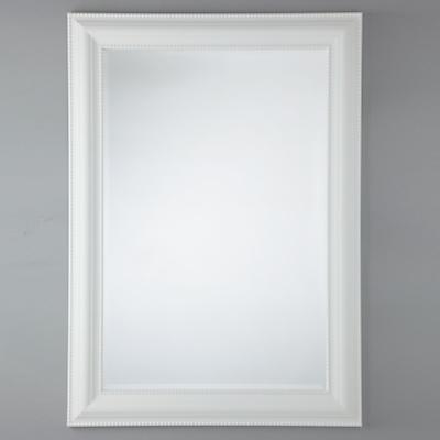 John Lewis Bead Mirror, White