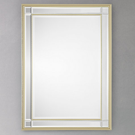 Buy John Lewis Marni Mirror, Silver, 91 x 66cm Online at johnlewis.com