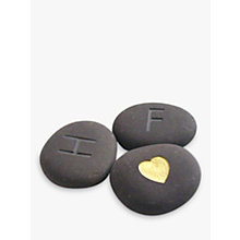 Buy Personalised 'I Love You' Stones, Set of 3 Online at johnlewis.com