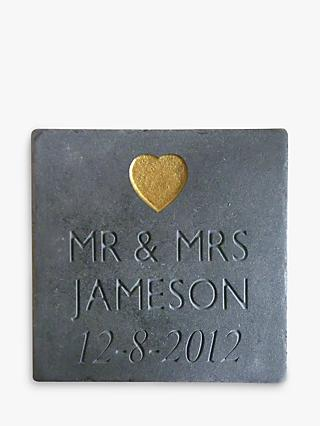 Personalised Wedding Slate