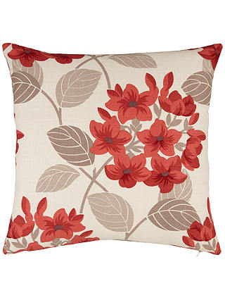 Buy Maggie Levien for John Lewis Titania Cushion, Red Online at johnlewis.com