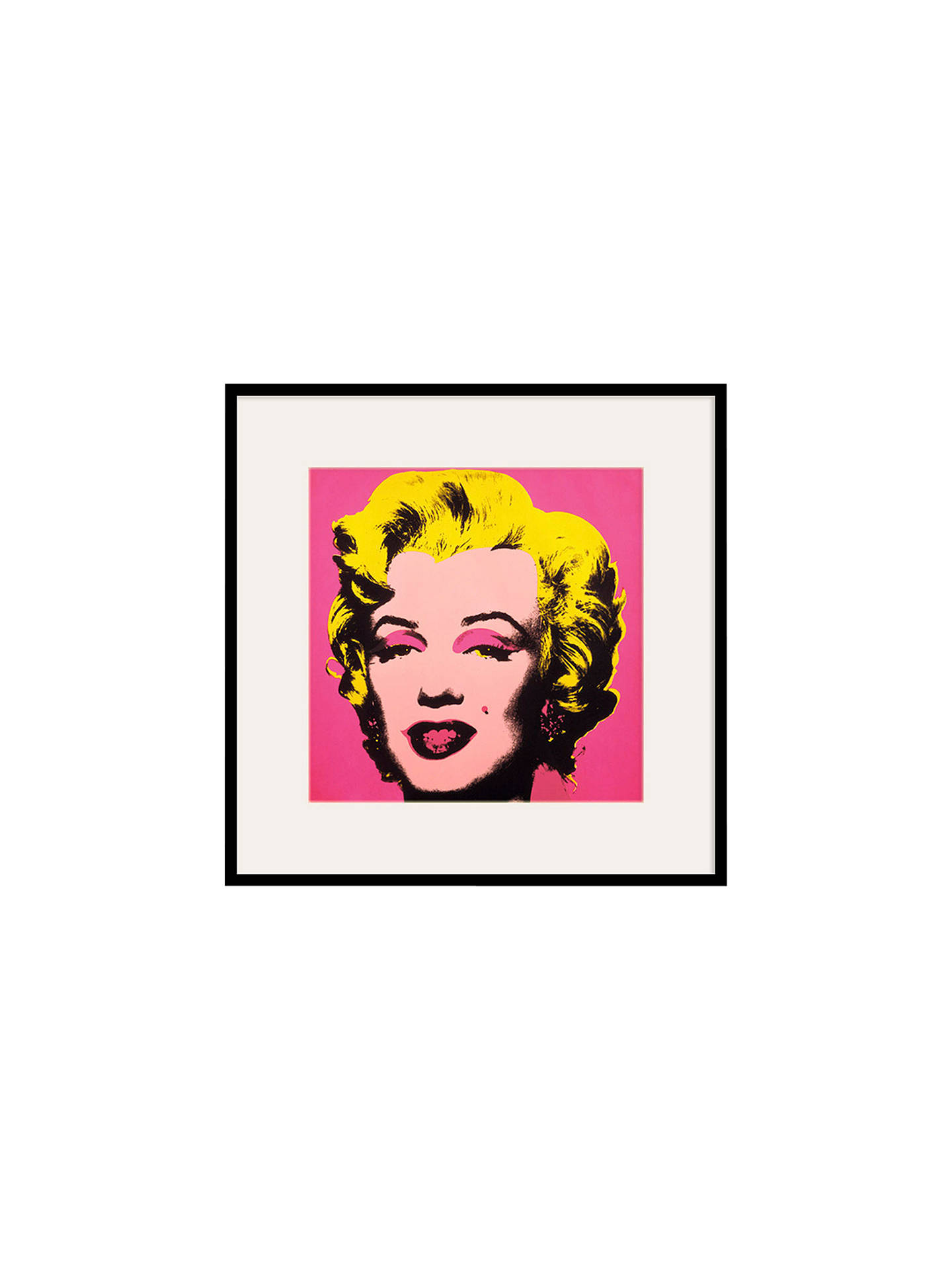 BuyAndy Warhol - From Marilyn Pink 1967, 60 x 60cm Online at johnlewis.com