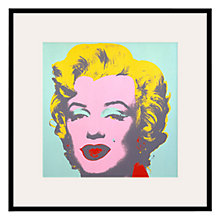 Buy Andy Warhol- From Marilyn Green 1967, 60 x 60cm Online at johnlewis.com