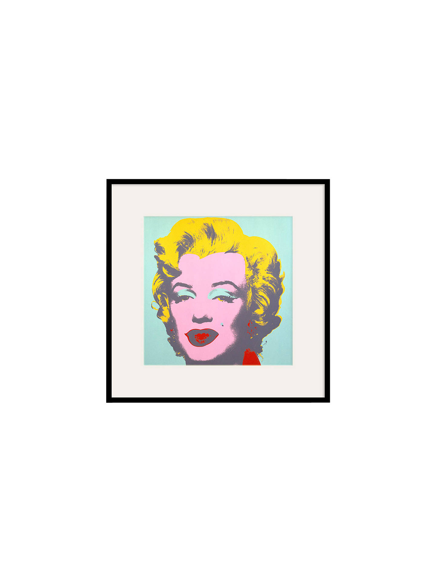 BuyAndy Warhol - From Marilyn Green 1967, 60 x 60cm Online at johnlewis.com
