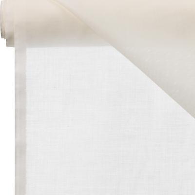 John Lewis Dijon Muslin Extra-Wide Unheaded Voile Fabric, Ecru, W300cm