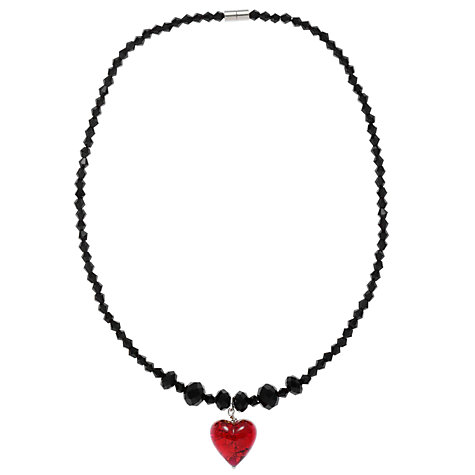 Buy Martick Faceted Crystal Bead and Murano Glass Pendant Necklace Online at johnlewis.com