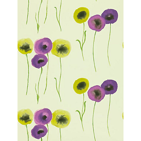 Buy Sanderson Poppies Wallpaper Online at johnlewis.com