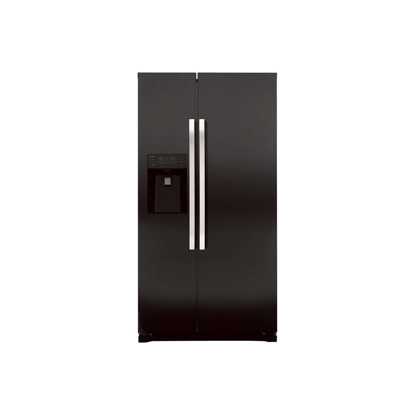 BuyJohn Lewis JLAFFB2011 American Style Fridge Freezer, Black Online at johnlewis.com