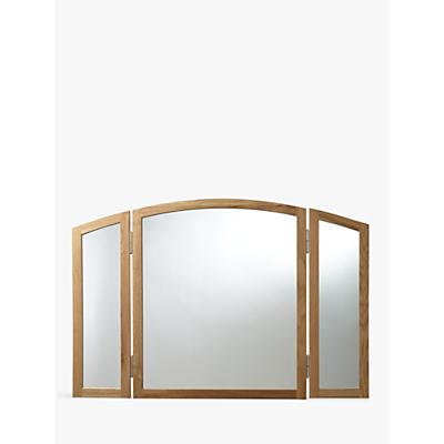 John Lewis Essence Gallery Mirror, Oak