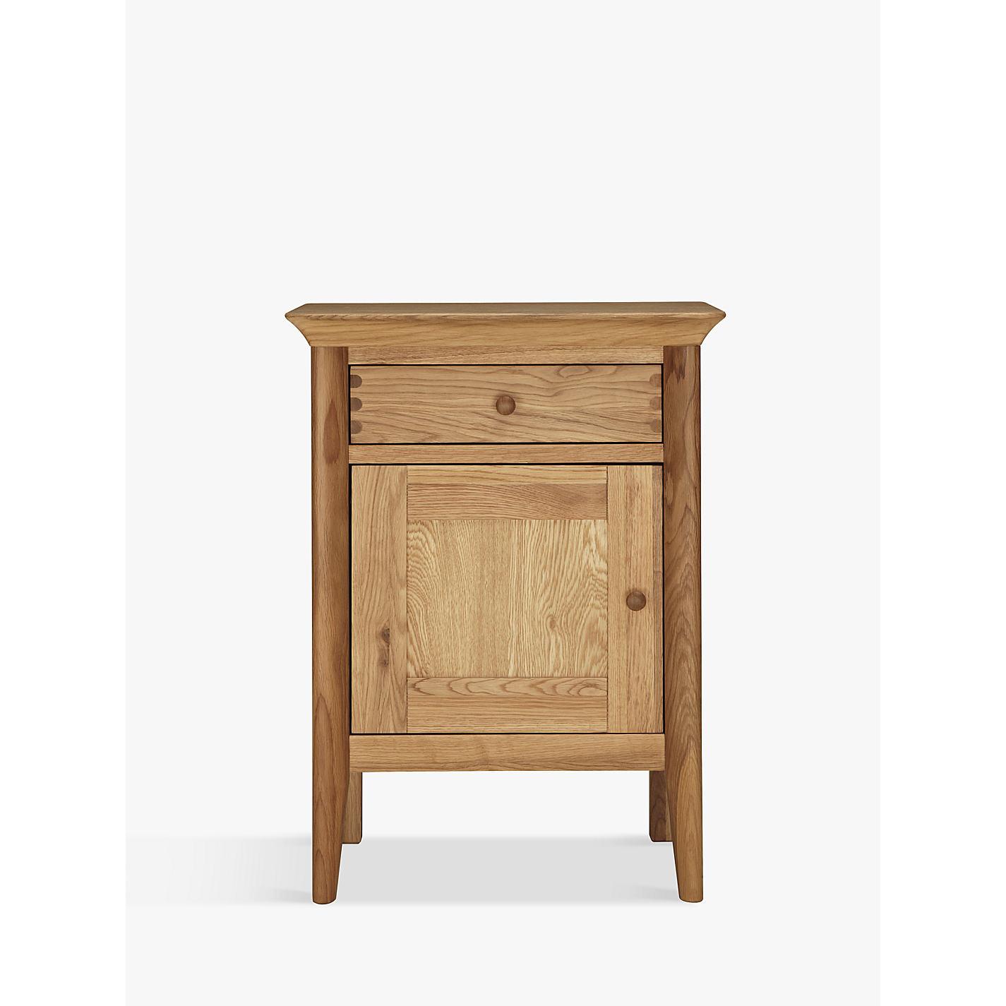 Cheap oak bedside cabinets stylish 1 drawer black high for Cheap bedside cabinets