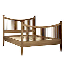 Buy John Lewis Essence High End Bed Frame, Oak, Double Online at johnlewis.com