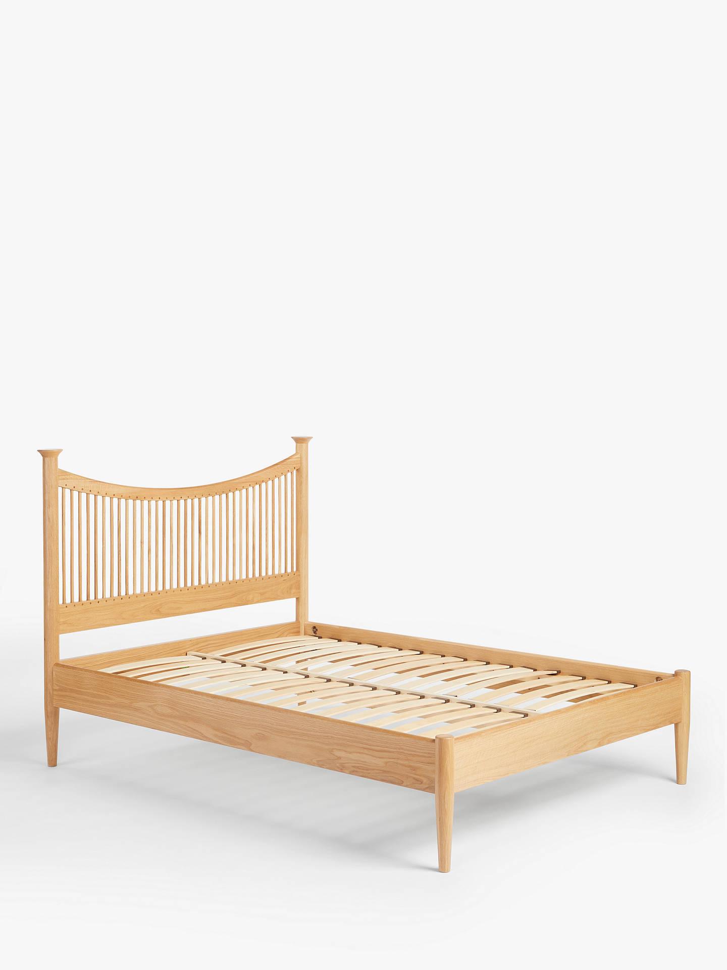 John Lewis & Partners Essence Bed Frame, Oak, King Size at John ...