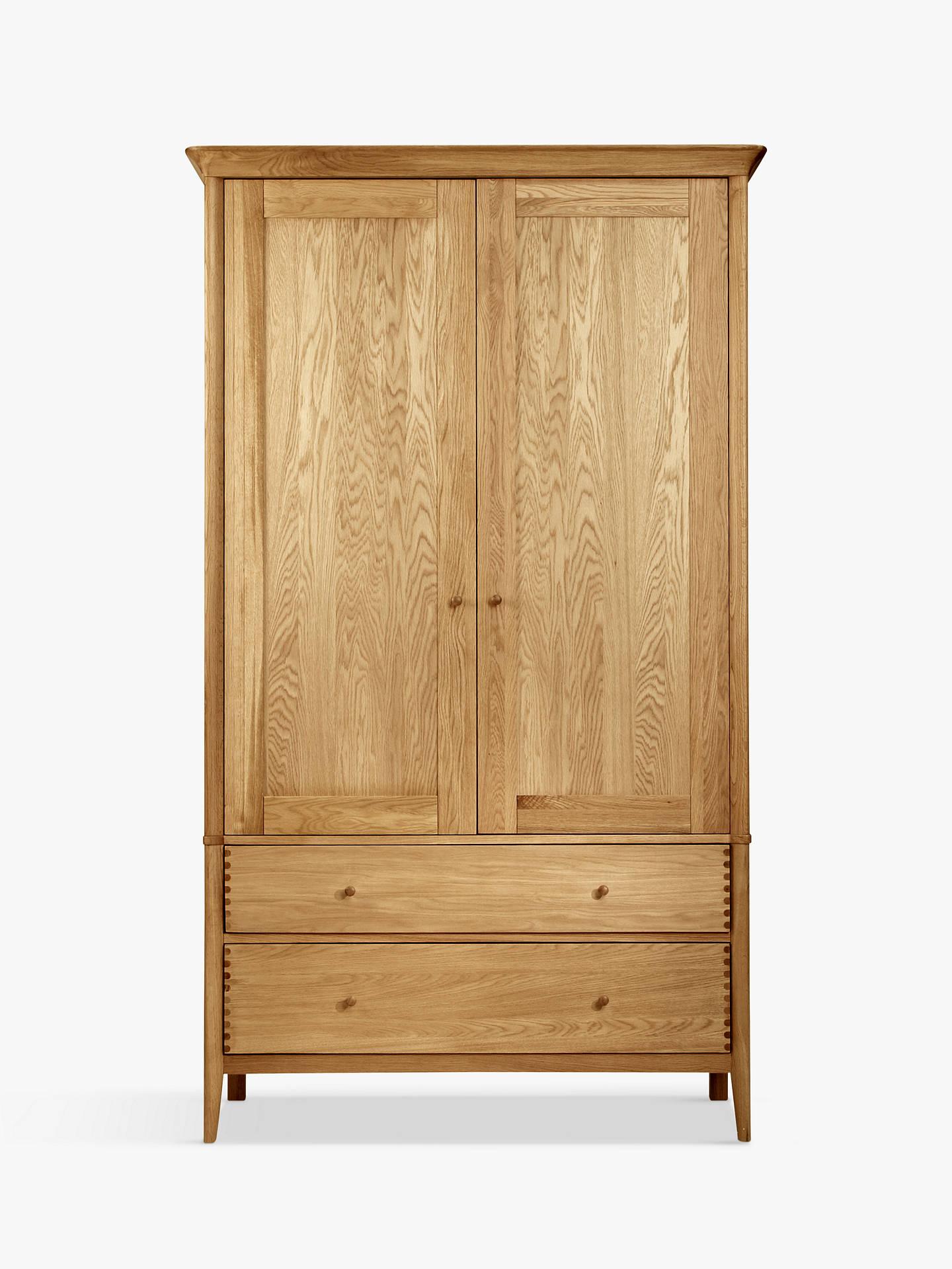 ... BuyJohn Lewis U0026 Partners Essence 2 Door Wardrobe, Oak Online At  Johnlewis. ...