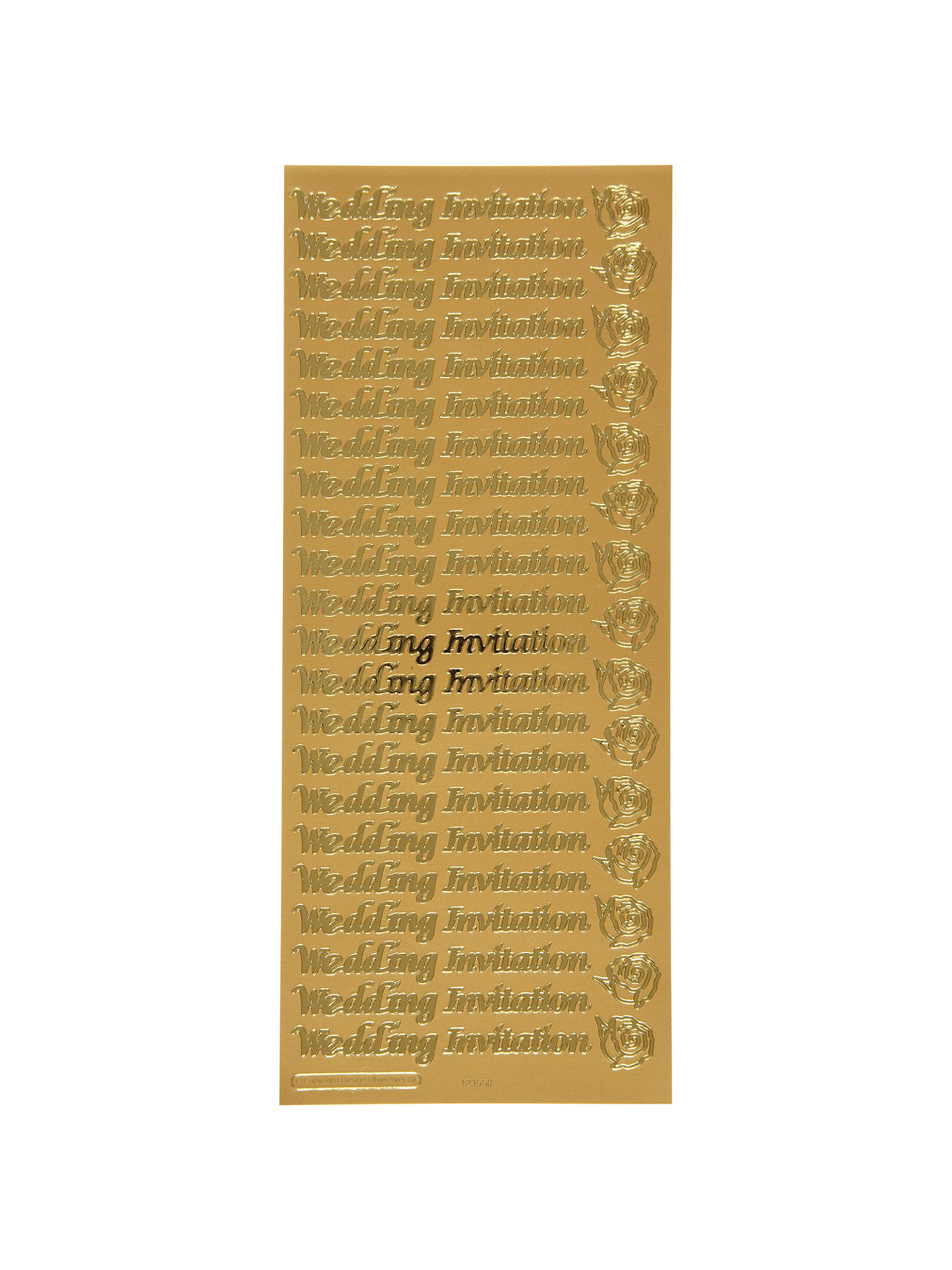 John Lewis Wedding Invitation Stickers At Partners