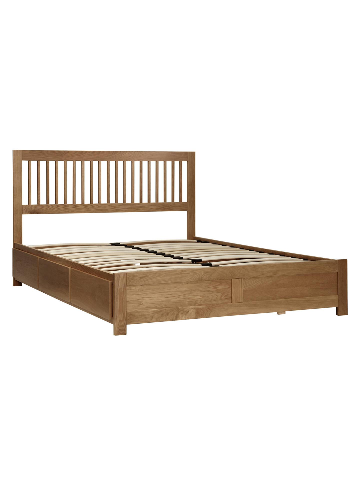 Pleasing John Lewis Camden Storage Bed Oak Double At John Lewis Beutiful Home Inspiration Truamahrainfo