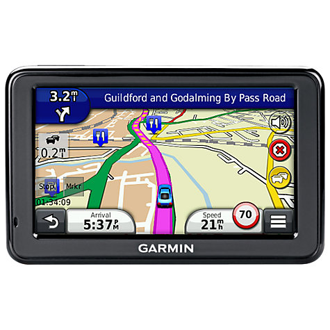 Buy Garmin nüvi 2515LT GPS Navigation System, UK & Republic of Ireland Maps Online at johnlewis.com