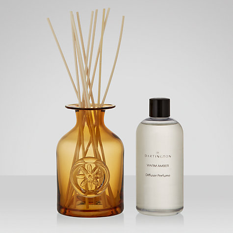 Buy Dartington Crystal Aquilegia Bottle Vase, Olive Online at johnlewis.com
