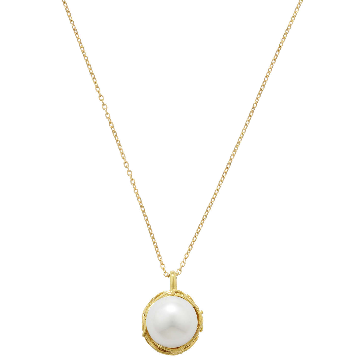 by product necklace pendant silver claudette claudetteworters original worters in pearl