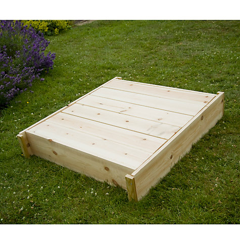 Buy TP Toys TP292 Wooden Lidded Sandpit Online at johnlewis.com