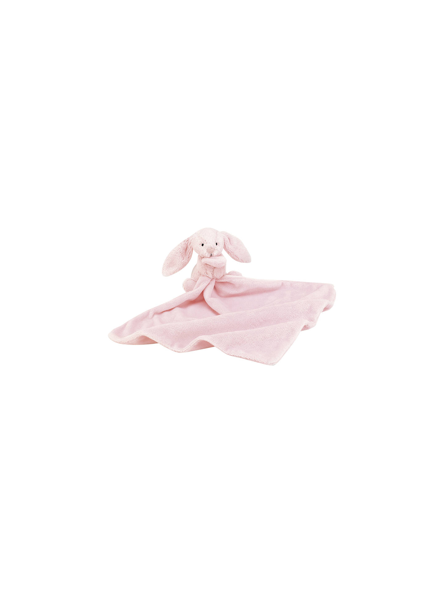 Jellycat Bashful Bunny Baby Soother Soft Toy, Pink