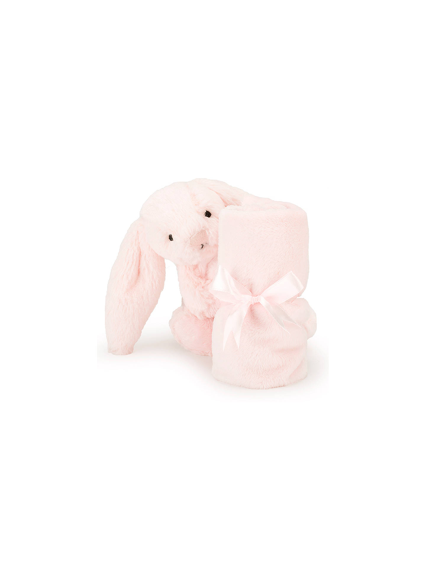 Jellycat Bashful Bunny Baby Soother Soft Toy Pink At John