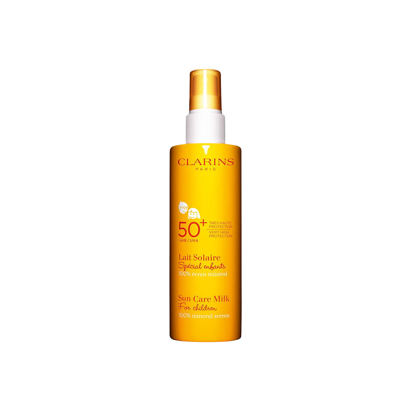 BuyClarins Sun Care Milk for Children UVA/UVB 50+, 150ml Online at johnlewis.com