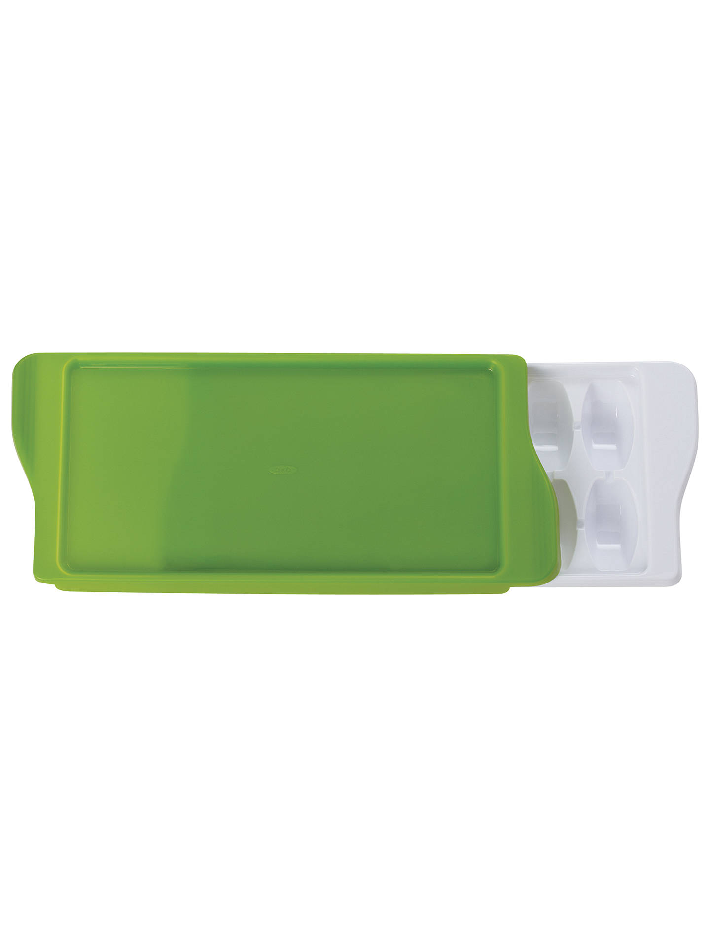 Oxo Tot Food Freezer Tray Green At John Lewis Amp Partners