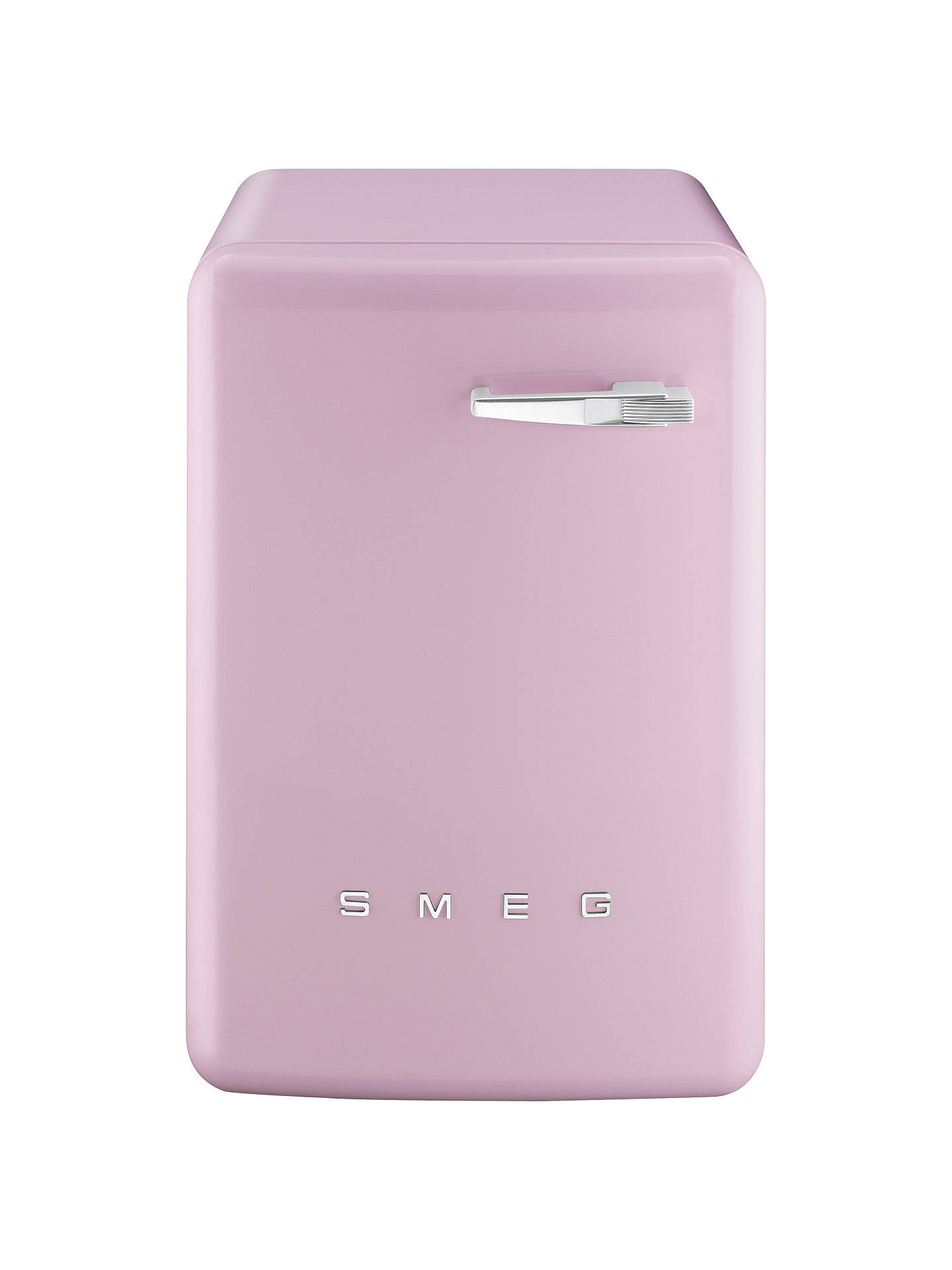 BuySmeg WMFABRO1 Slim Depth Freestanding Washing Machine, 7kg Load, A Energy Rating, 1400rpm Spin, Pink Online at johnlewis.com