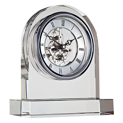 Buy London Clock Company Crystal Dome Skeleton Clock Online at johnlewis.com
