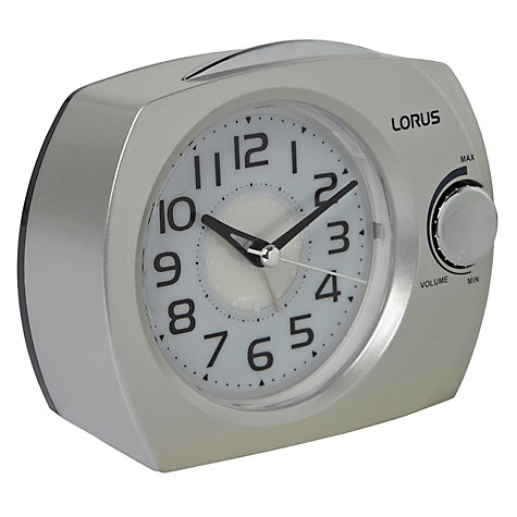 Buy Seiko Lorus Volume Control Clock Online at johnlewis.com