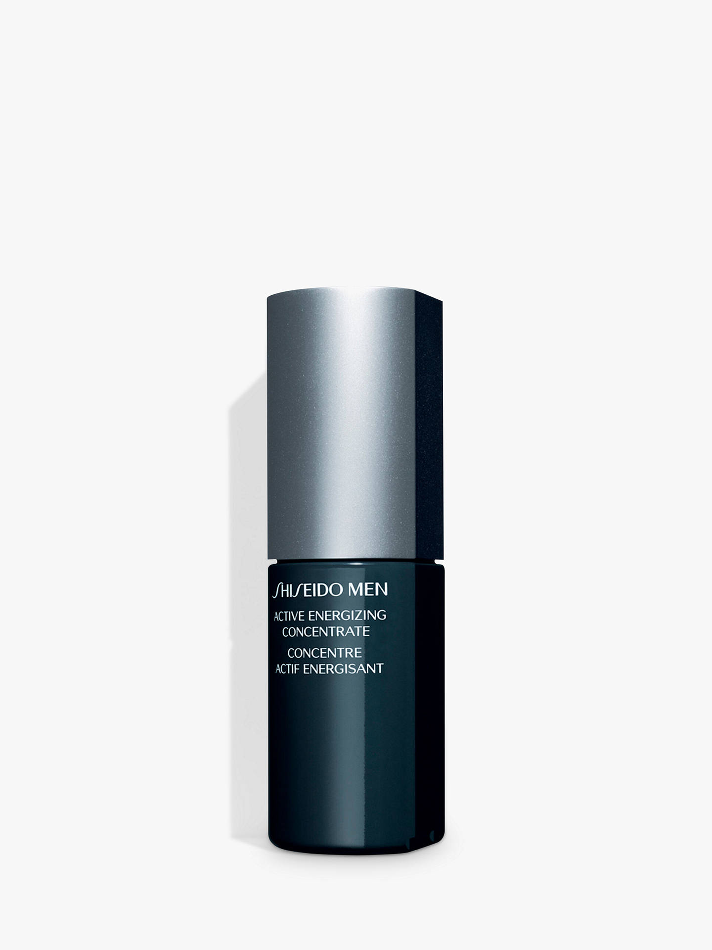 BuyShiseido Men Active Energizing Concentrate Moisturiser, 50ml Online at johnlewis.com