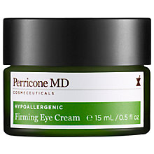 Buy Perricone MD Hypoallergenic Firming Eye Cream, 15ml Online at johnlewis.com