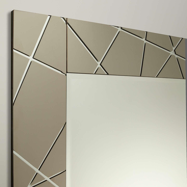 John lewis engraved mirror smoke 90 x 60cm at john lewis for Mirror 60 x 90