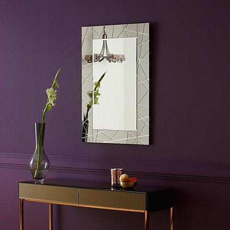 Buy john lewis engraved mirror smoke 90 x 60cm john lewis for Mirror 90 x 60