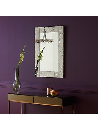 John Lewis & Partners Smoke Engraved Mirror Range
