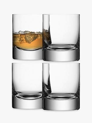 LSA International Bar Collection Tumblers, Box of 4, 250ml, Clear