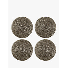 Buy John Lewis Glass Bead Coasters, Set of 4 Online at johnlewis.com