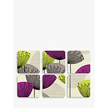 Buy Sanderson Dandelion Clocks Coasters, Set of 6 Online at johnlewis.com