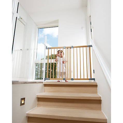 Buy BabyDan Wooden Super Flexi Fit Baby Safety Gate Online at johnlewis.com