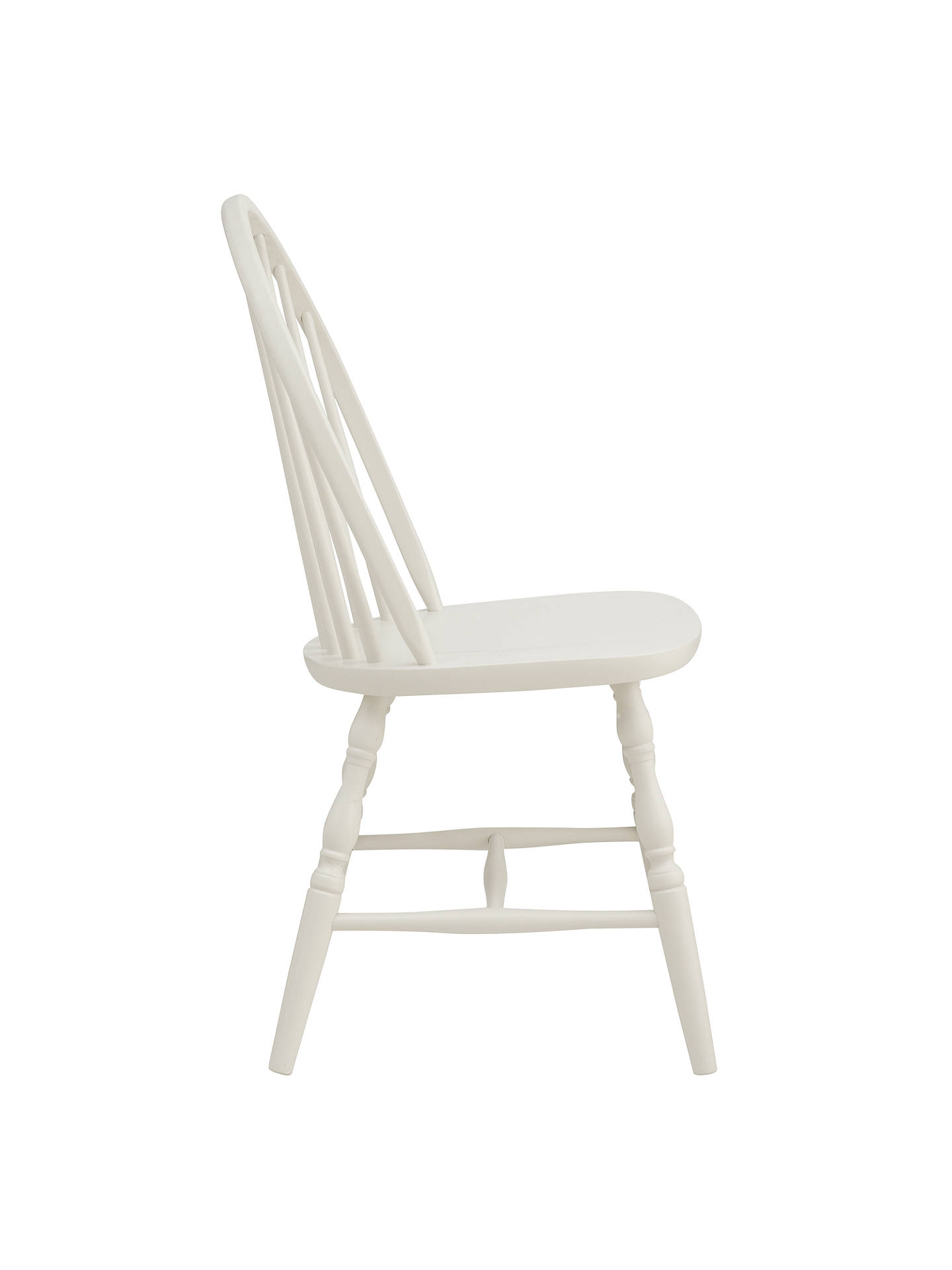 Buy John Lewis Croft Collection Marple Dining Chair, Cream Online at johnlewis.com