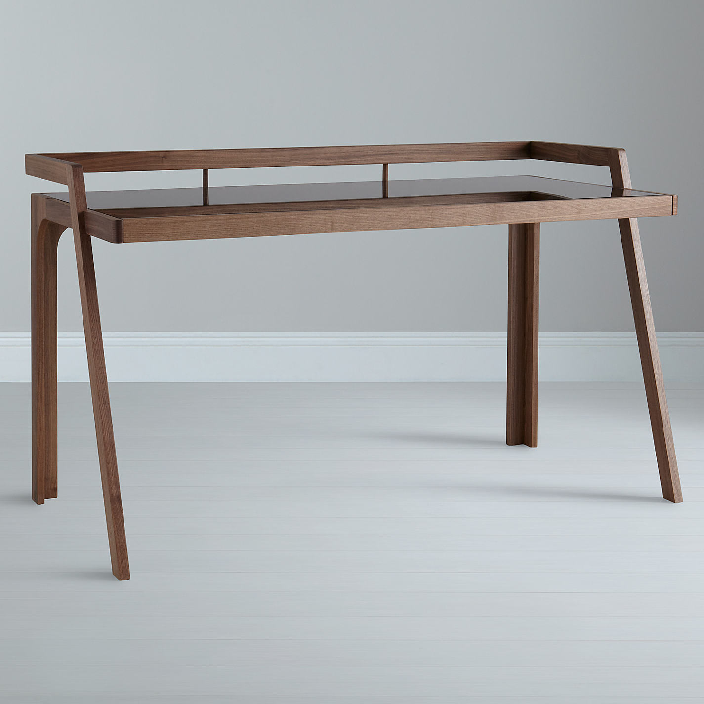 John Lewis Gazelle Desk Walnut Online At Johnlewis