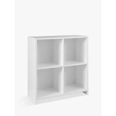House by John Lewis Oxford Double Shelf Cube Units, FSC-Certified