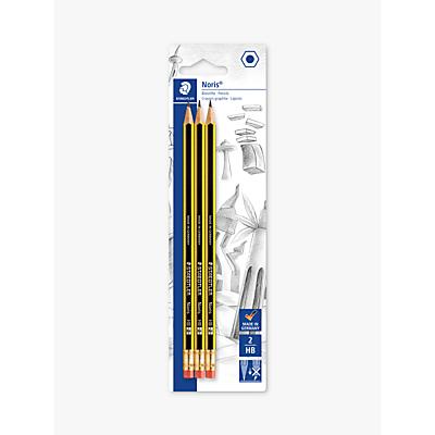 Image of Staedtler Noris HB Pencils, Pack of 3