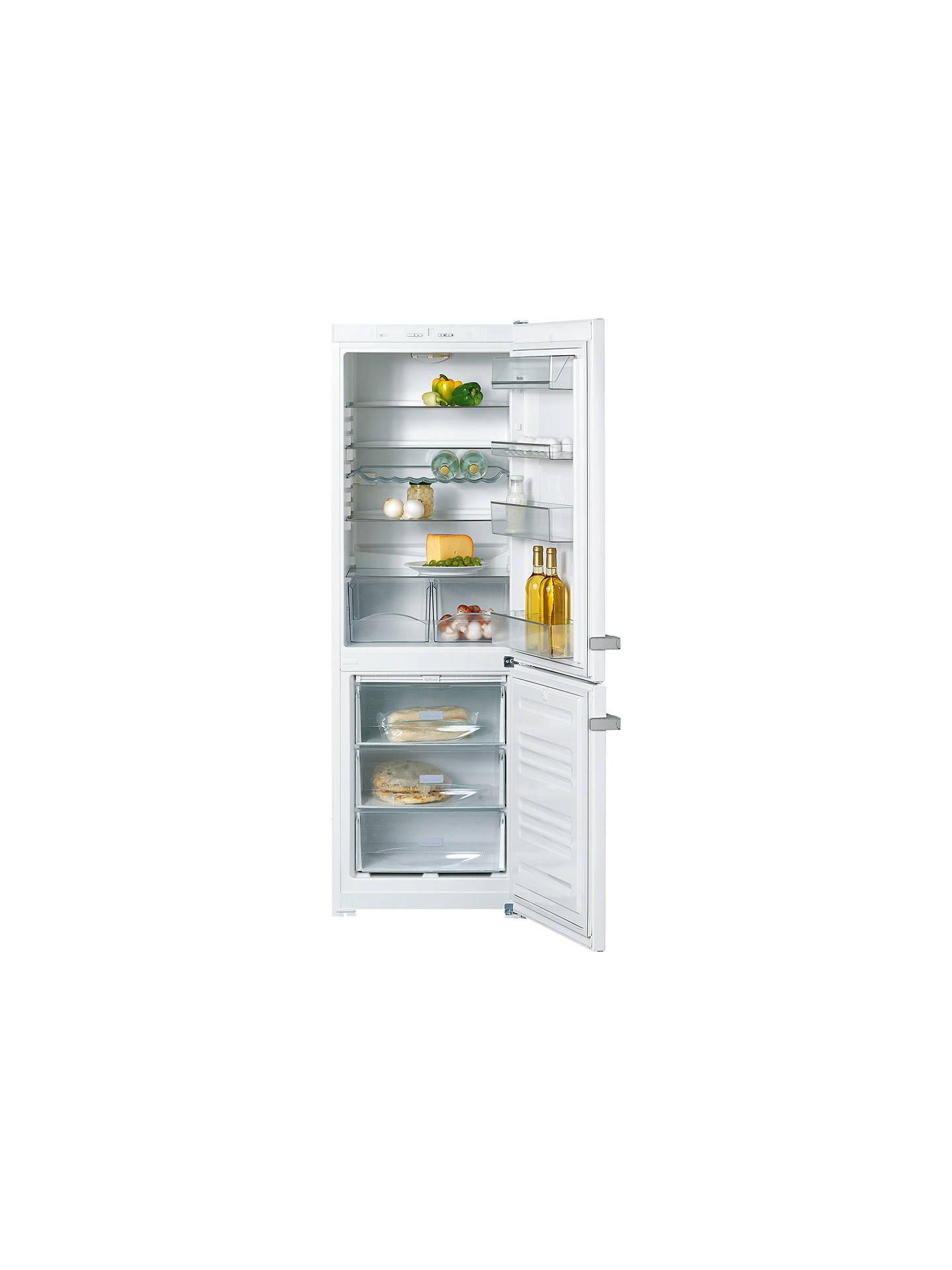 Miele kdn12823s 1 fridge freezer white at john lewis partners for John lewis home design service reviews