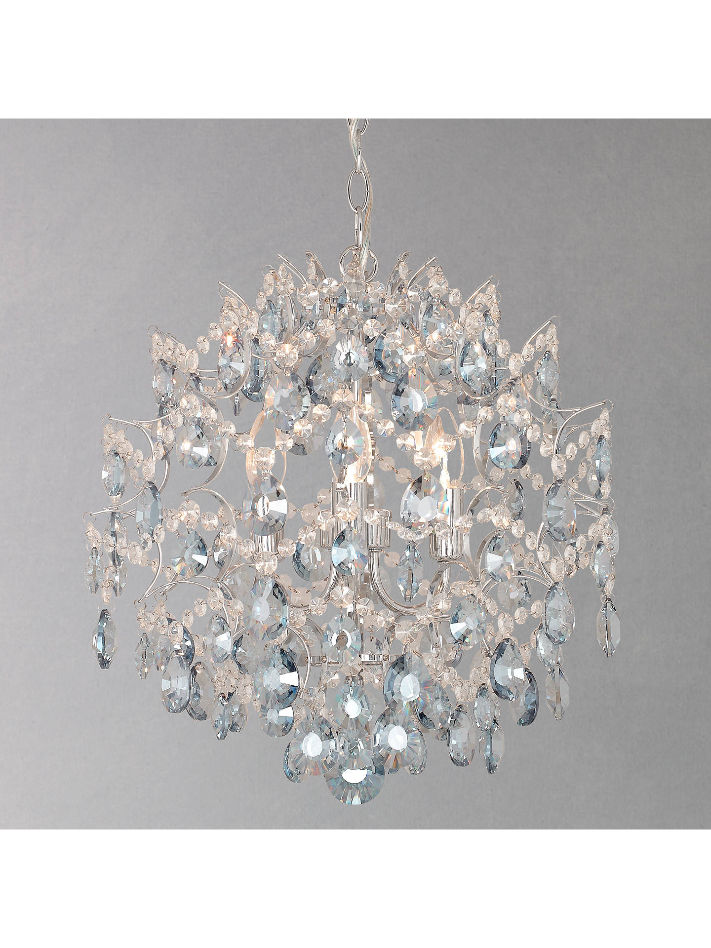 John Lewis Partners Baroque Crystal Chandelier At Johnlewis