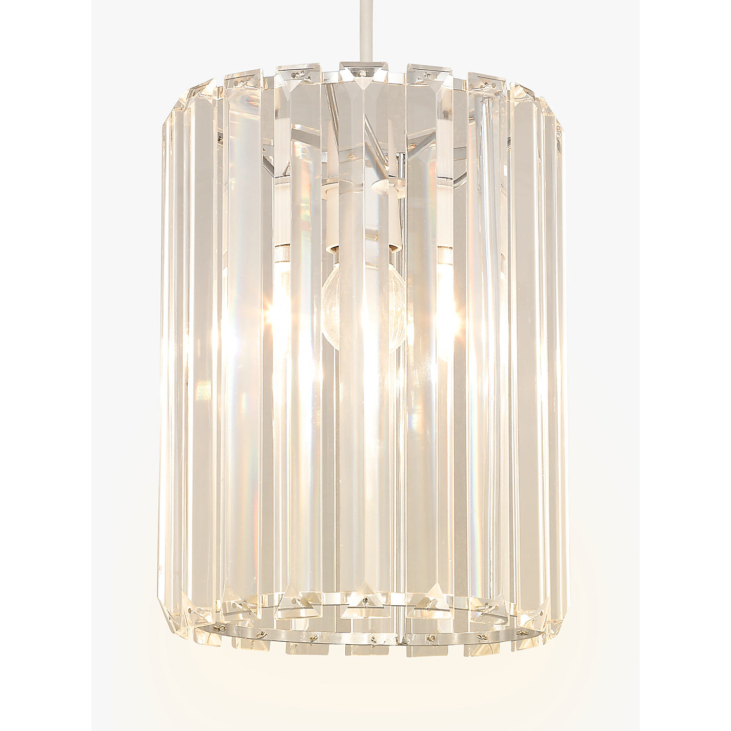 Bathroom Wall Lights John Lewis buy john lewis frieda easy-to-fit crystal ceiling shade | john lewis
