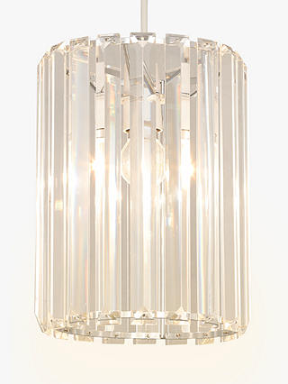 Buy John Lewis & Partners Frieda Easy-to-Fit Crystal Ceiling Shade Online at johnlewis.com
