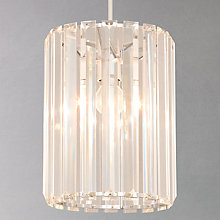 Buy John Lewis Frieda Easy-to-Fit Crystal Ceiling Shade Online at johnlewis.com