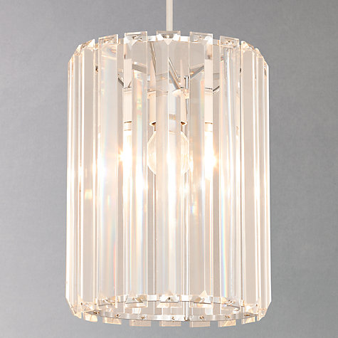 Next Ceiling Light Shades: Buy John Lewis Frieda Easy-to-Fit Crystal Ceiling Shade Online at johnlewis.,Lighting